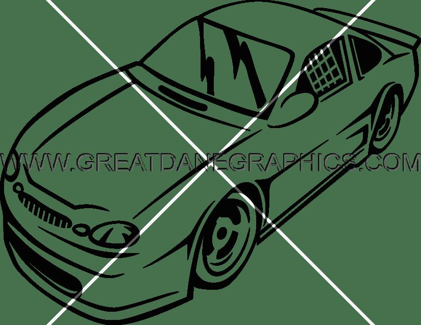 vector freeuse library Racing Cars Drawing at GetDrawings