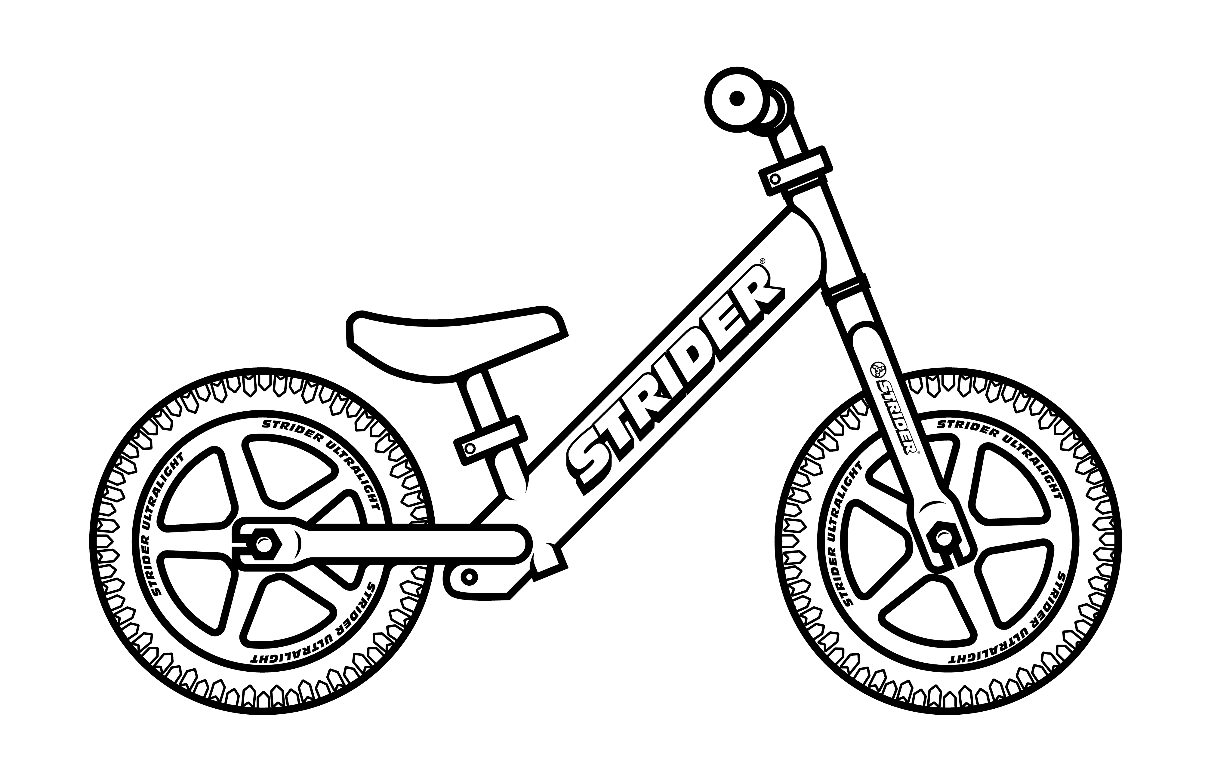 jpg black and white stock Bike Outline Drawing at GetDrawings