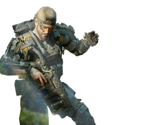 clipart transparent library Gaming render favourites by. Bo3 transparent seraph