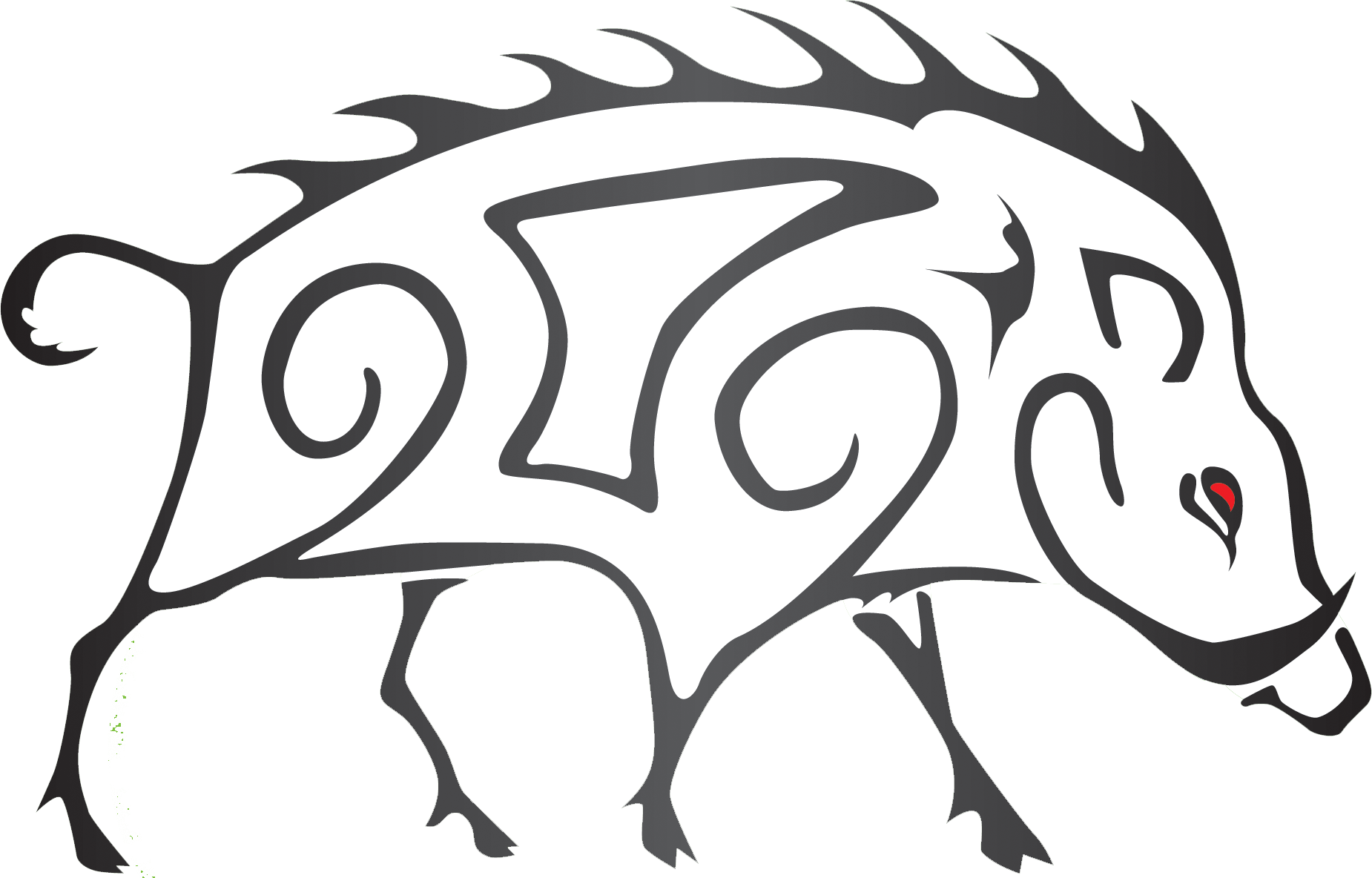 clip download Edward png embroidery designs. Boar vector