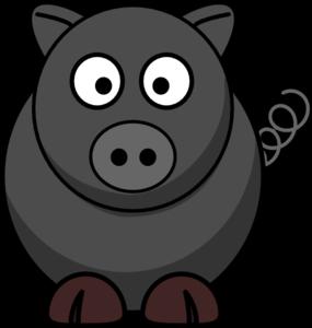 clip black and white Boar vector. Wild clip art at