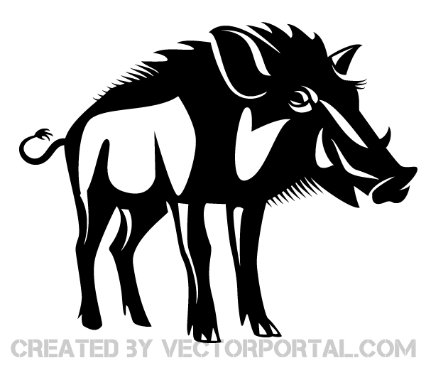 picture transparent stock Wild art free vectors. Boar vector