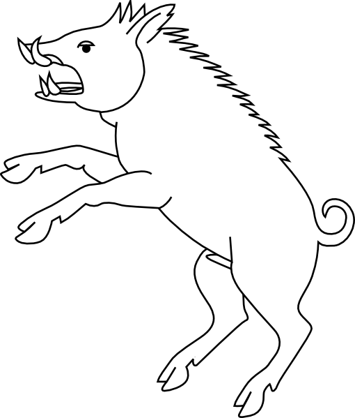 transparent download Wild clip art at. Boar vector hog