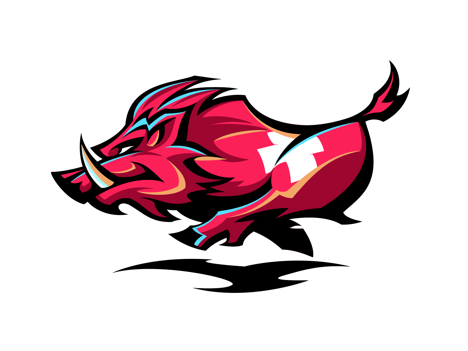royalty free download Boar vector logo. By dionisis chalikias on