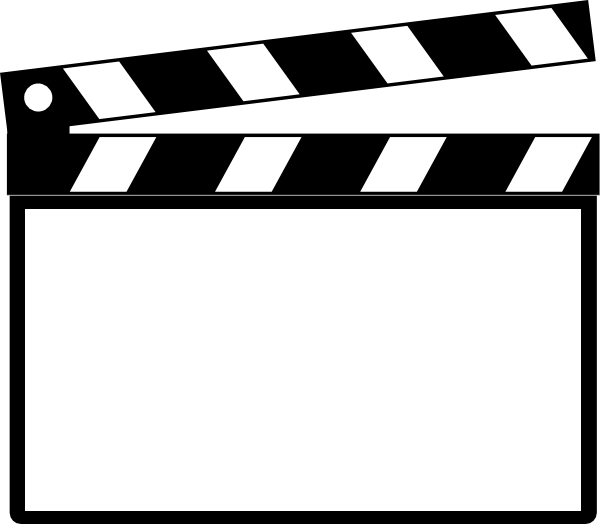 graphic library library Board clip director. Clapperboard film art clapper
