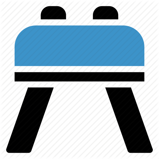 clip royalty free download Board clip double. Sports fitness colour blue