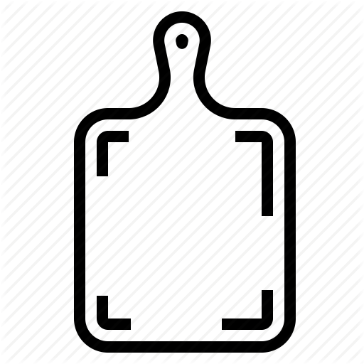 clip royalty free stock Bakery by turkkub icon. Board clip outline
