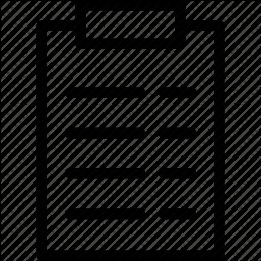 vector free Document paper icon search. Board clip report