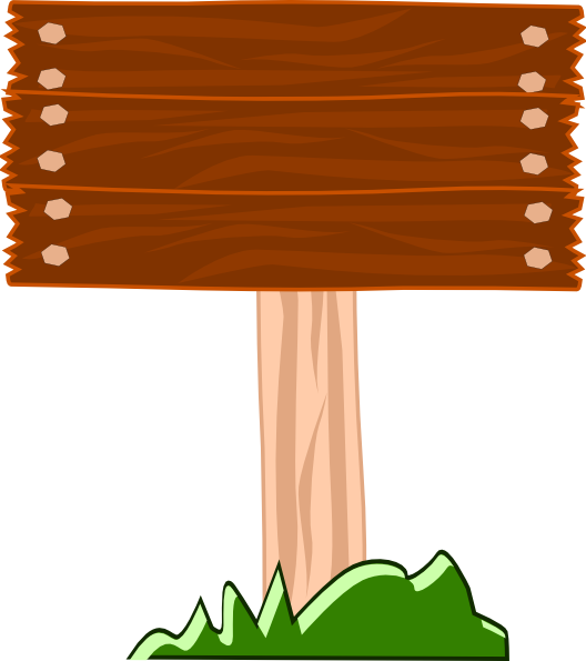 royalty free download Board clipart. Wood street sign clip.
