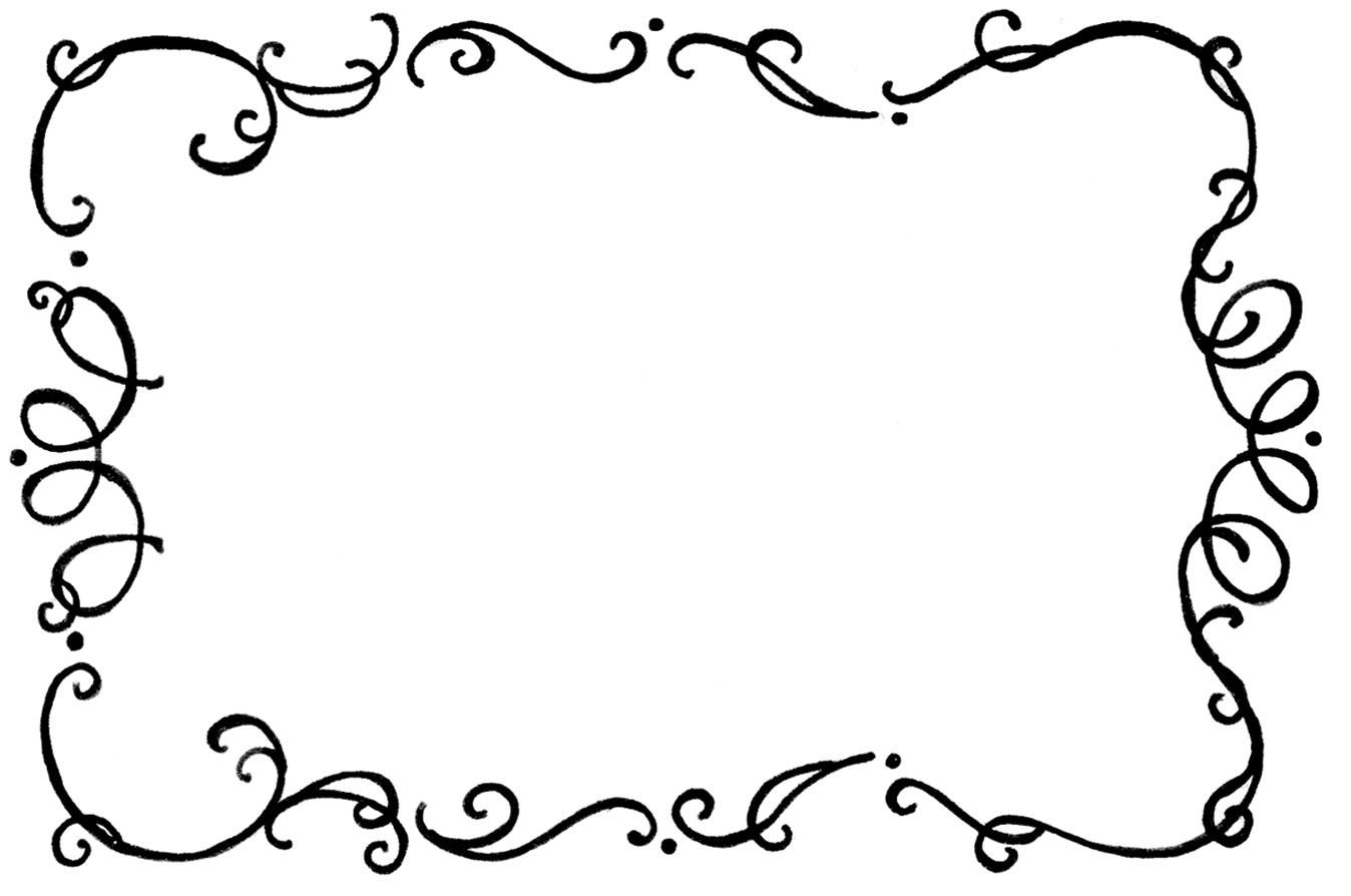 graphic free Cooking borders and frames. Border clipart.