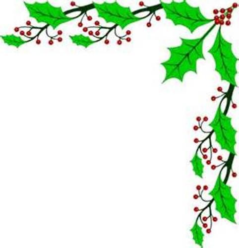 vector royalty free library Free . Christmas clipart borders