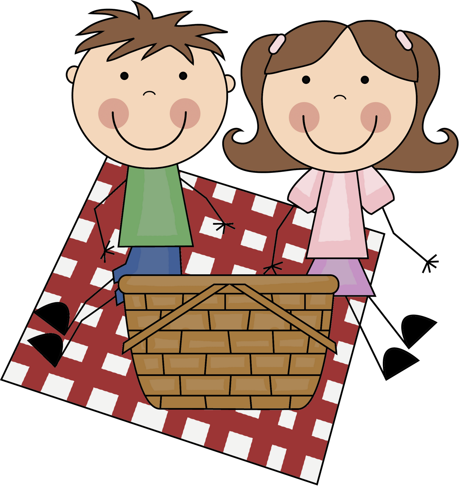 image free download Boarder clipart picnic. Summer borders panda free