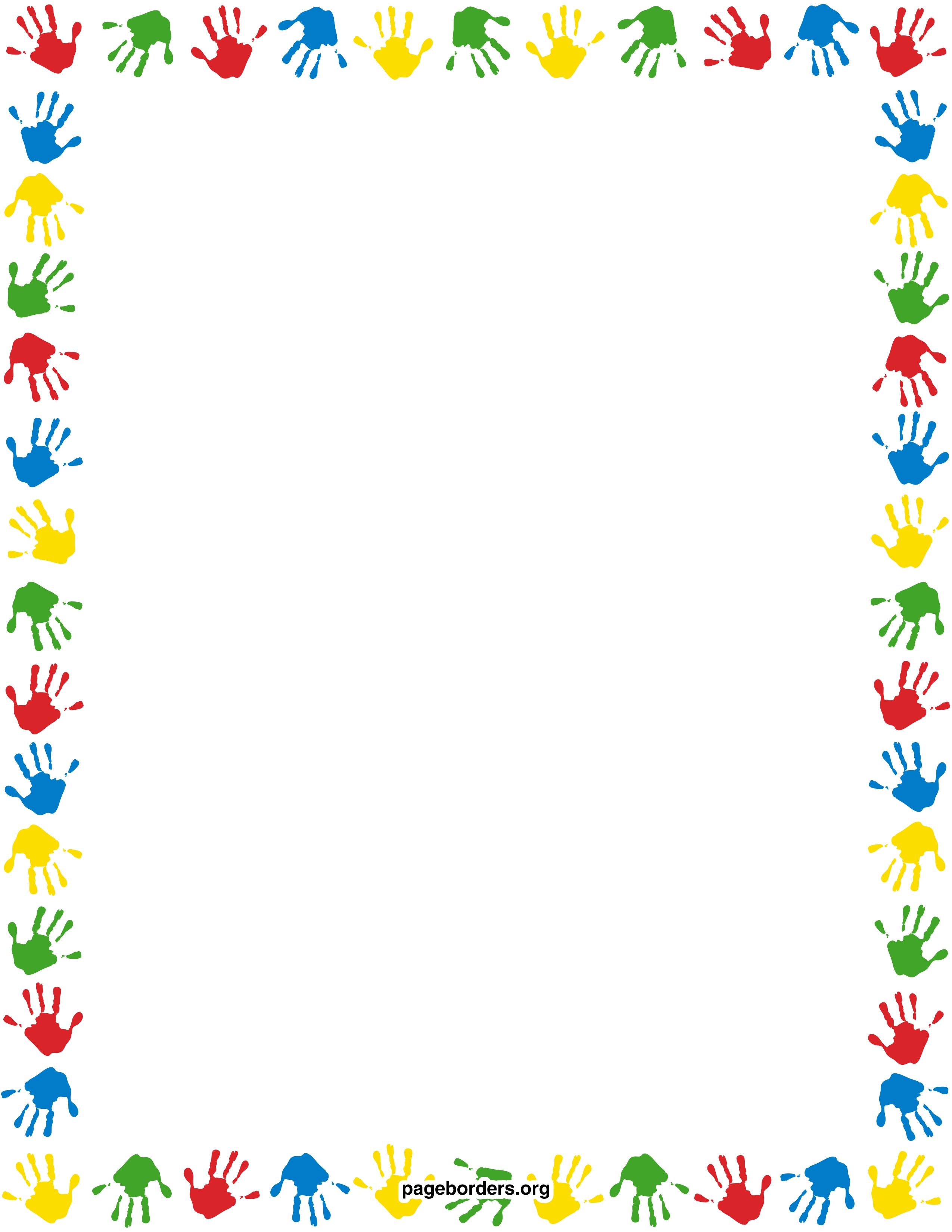 image royalty free stock Preschool clipart borders. Border clipartfest wikiclipart