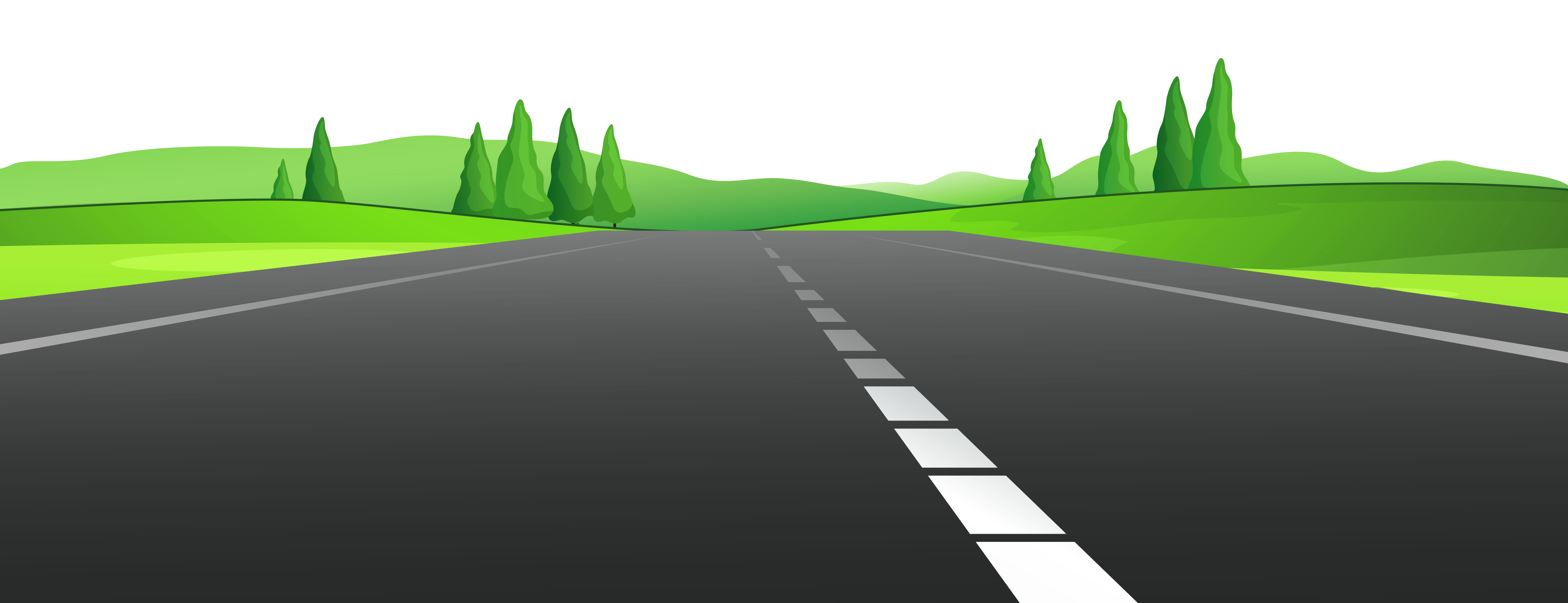 jpg stock Roadway wide road free. Ground clipart landscape