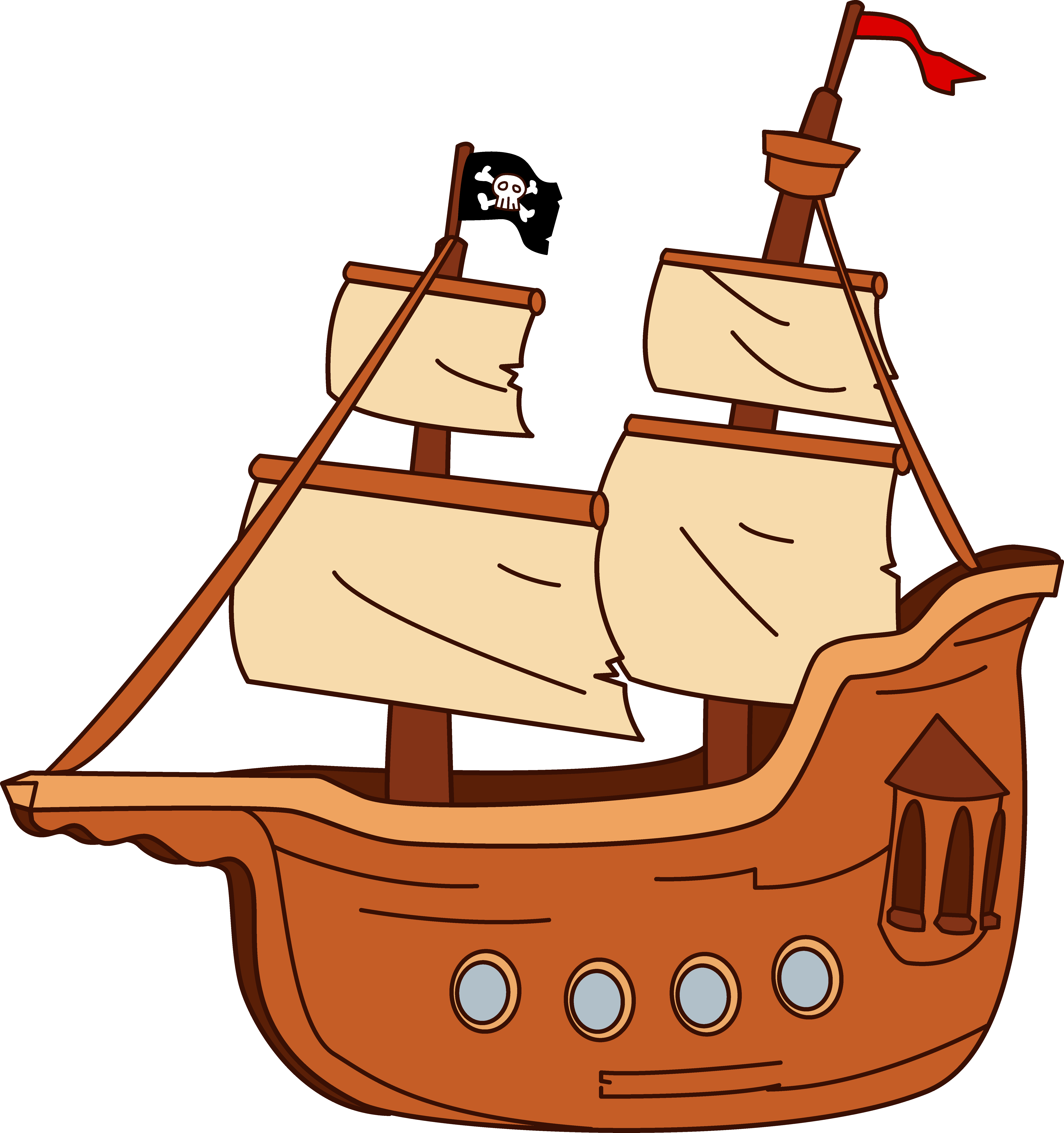 picture freeuse Boat clipart. Fishing sailor ship free