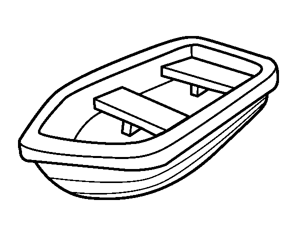 vector free stock Boat clipart black and white. Row drawing at getdrawings