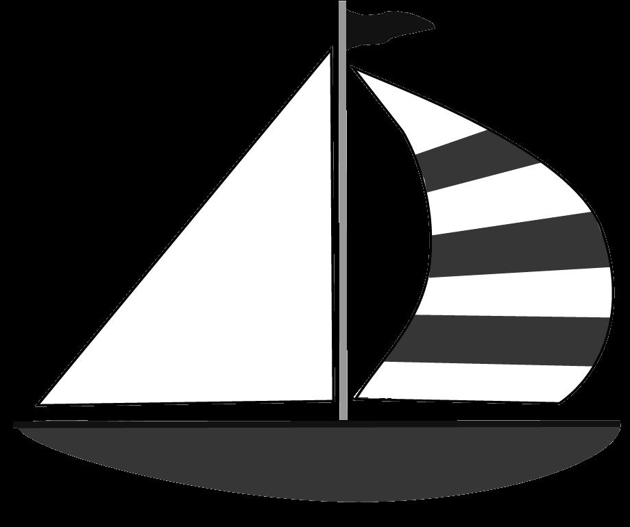 graphic transparent stock Sail clipartblack com transportation. Boat clipart black and white