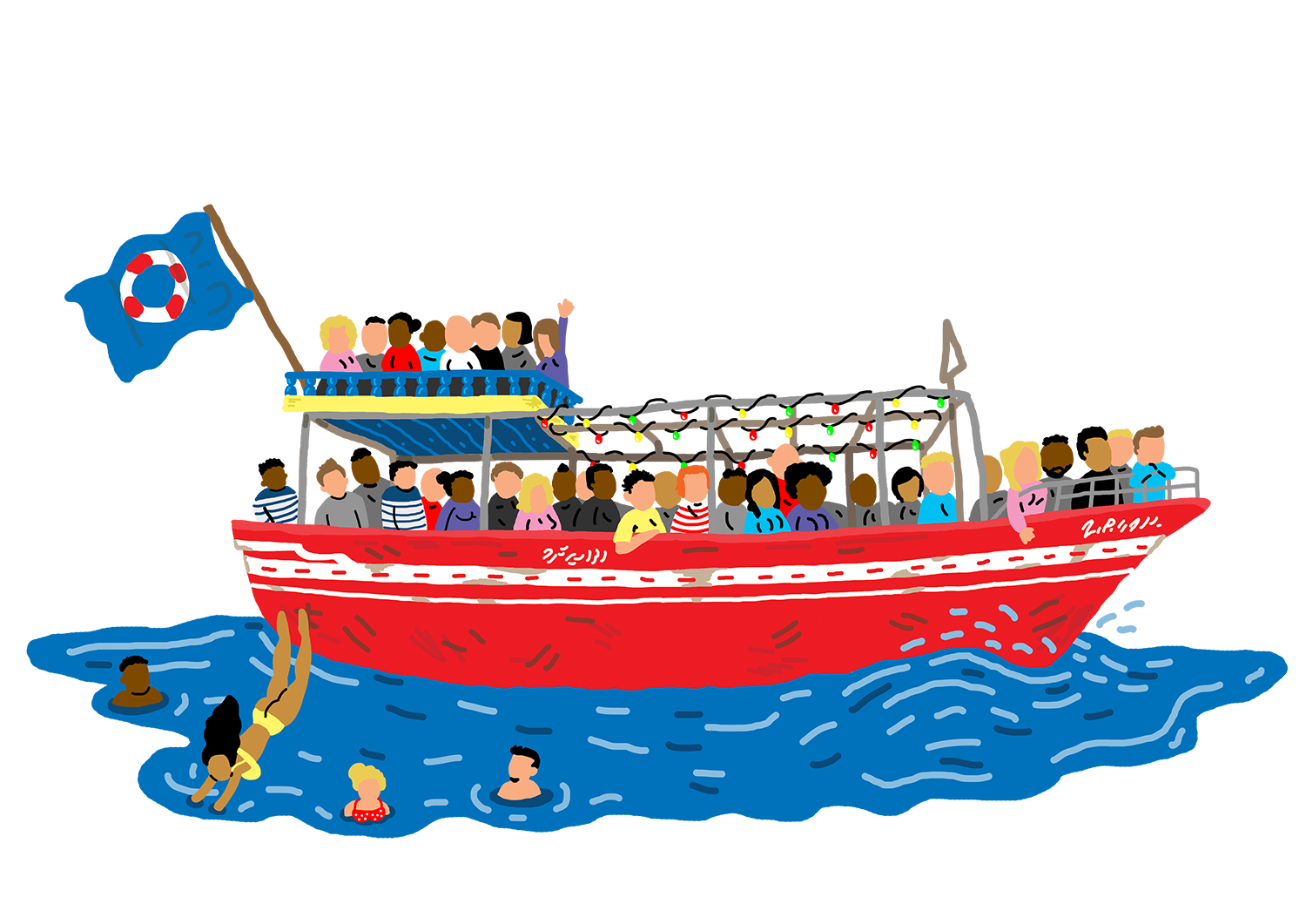 image library stock Boat clipart boat ride. Cruise pencil and in.