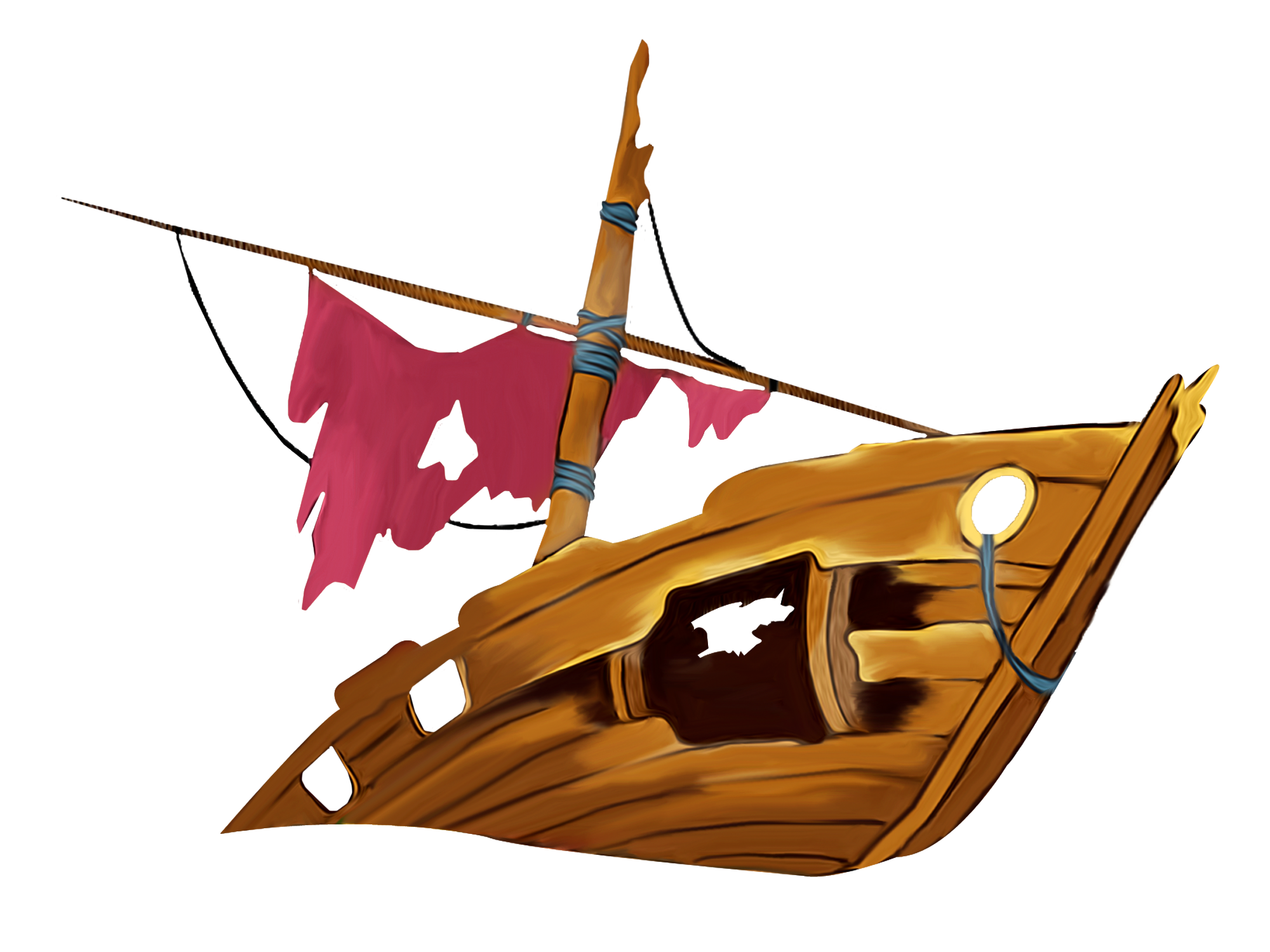 png free library Shipwreck clip art lego. Boat clipart shipwrecked