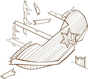png library download Boat clipart shipwrecked. Shipwreck clip art at