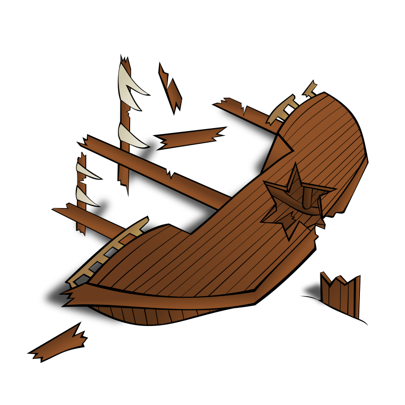 picture free stock Rpg map symbols shipwreck. Boat clipart shipwrecked