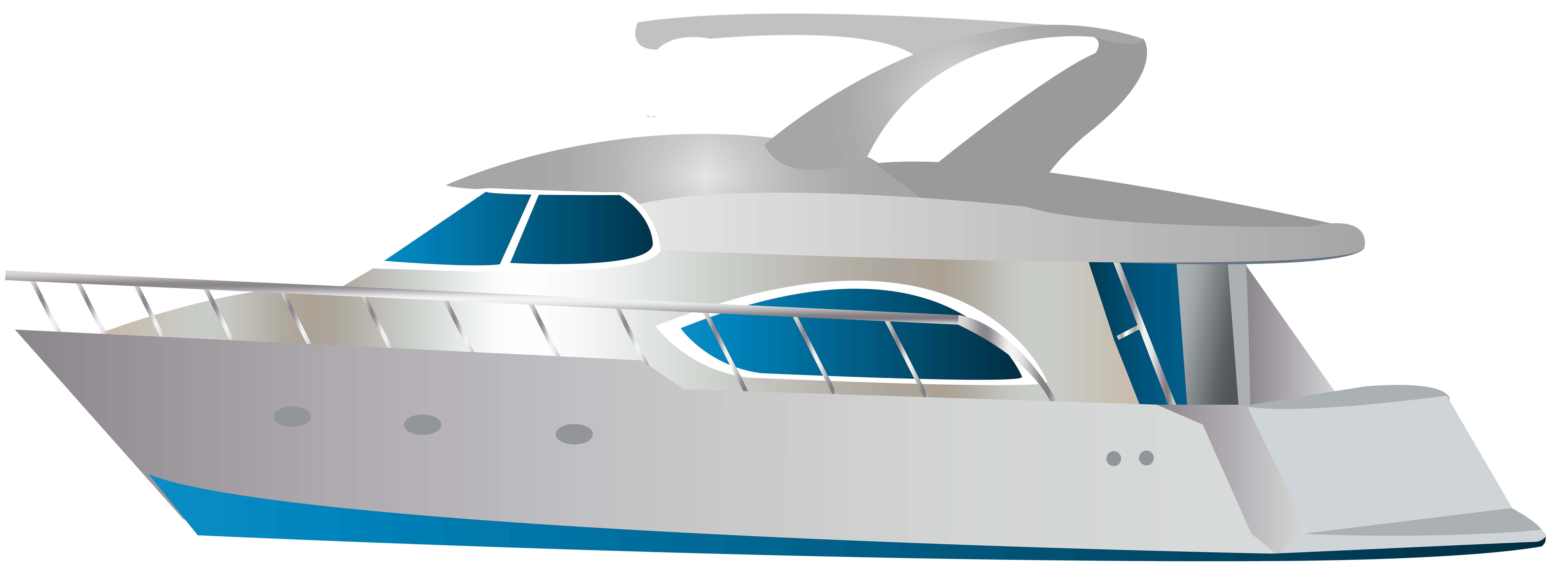 vector black and white Speed boat png clip. Yacht clipart transparent background.