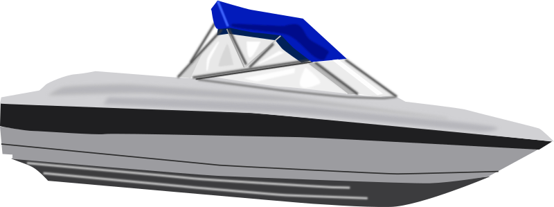 picture library Boat clipart speed boat. Medium image png