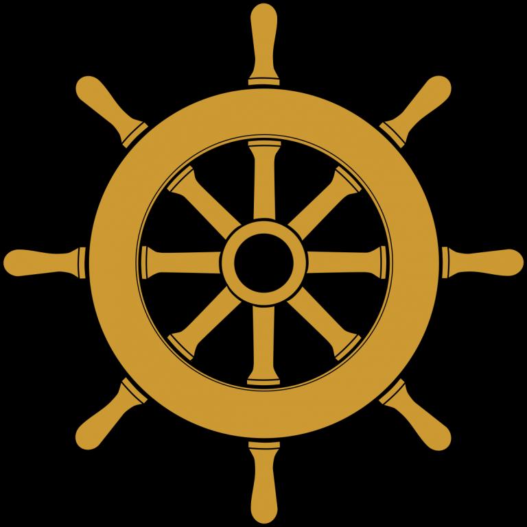 svg freeuse library Captain clipart ship pilot. Boat wheel kid clip.