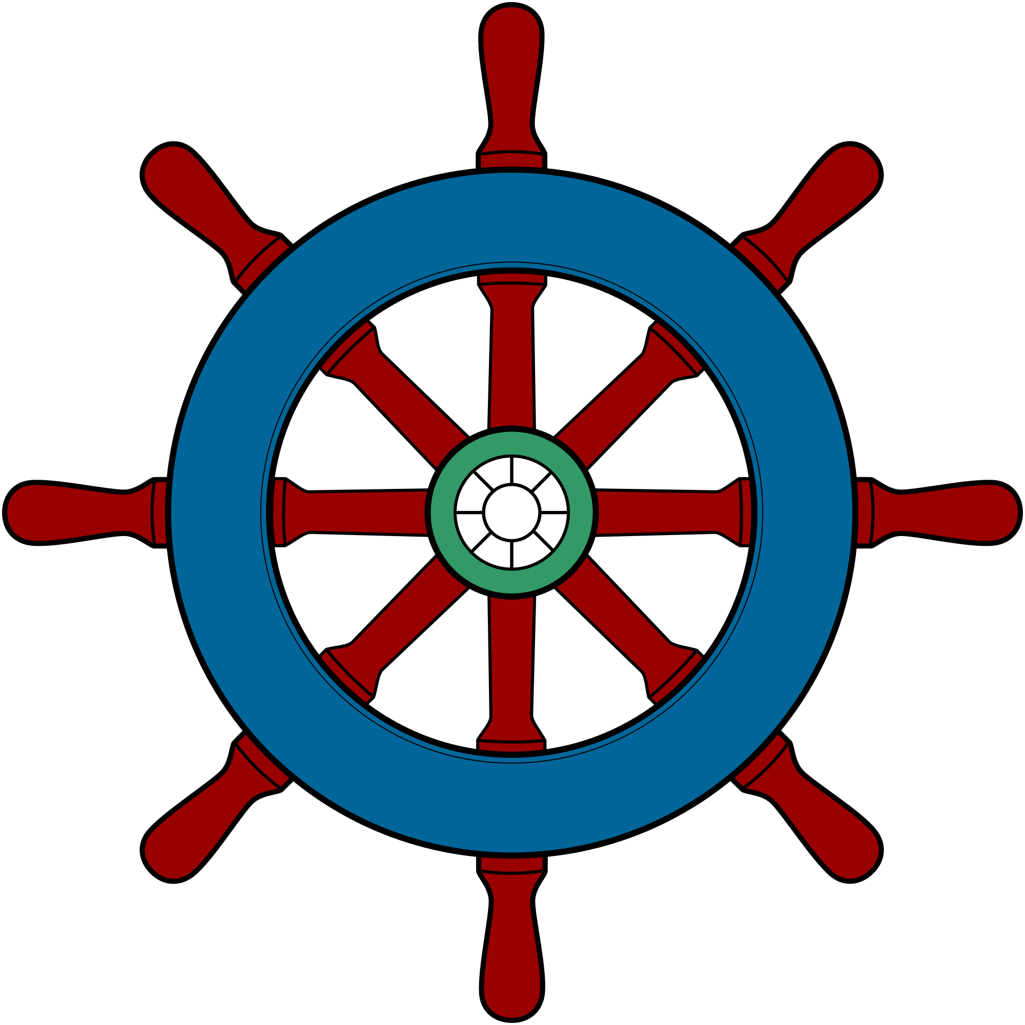 banner freeuse library Boat clipart wheel. Ships group filewikivoyagesteering shipsvg