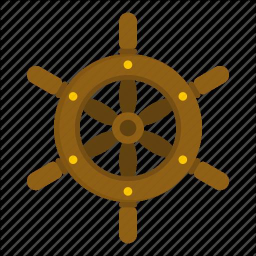 image freeuse Pirate by ivan ryabokon. Boat steering wheel clipart
