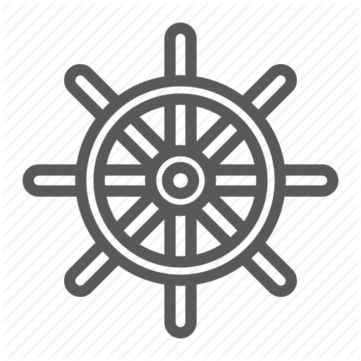 svg freeuse Diving by fox design. Boat steering wheel clipart