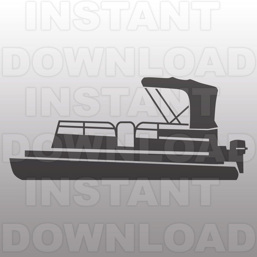 jpg download Pin by christie anderson. Boat svg pontoon