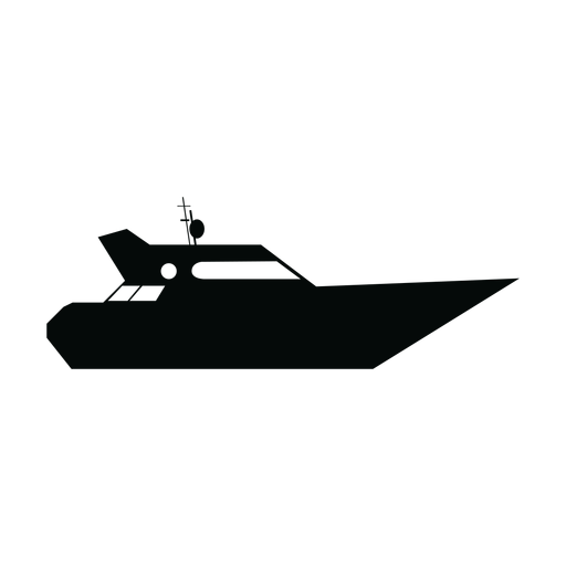 banner royalty free Boat svg silhouette. Yacht ship transparent png