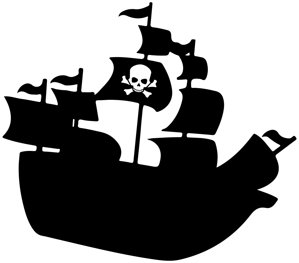 picture free stock Boat svg silhouette. Onlinelabels clip art pirate