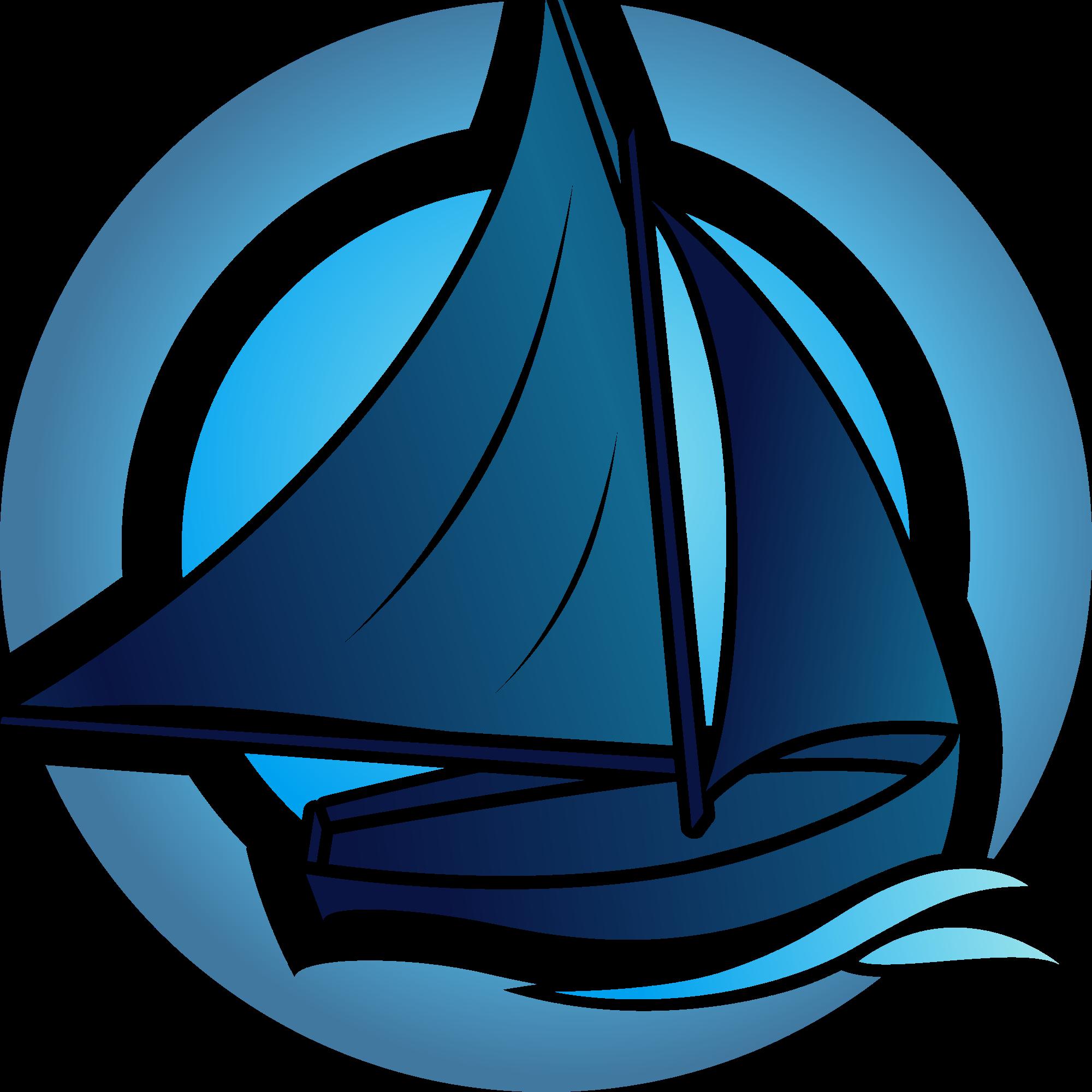 svg free stock Boat svg transparent. File travel blue logo