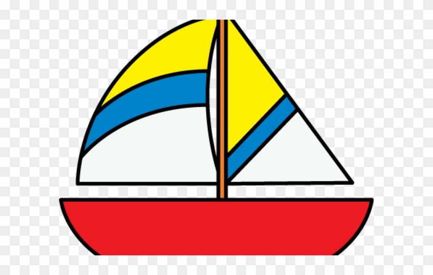 clip art freeuse stock Yacht clipart cartoon. Colorful boat boats png