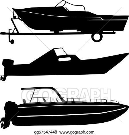 jpg free Boats clipart illustration. Eps vector motor stock