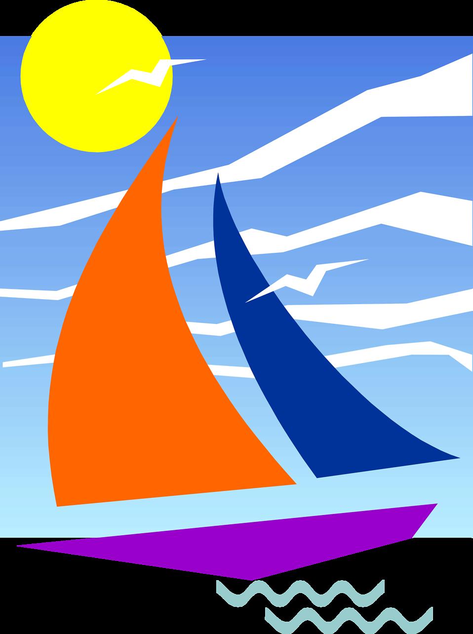 image free Sailboat free stock photo. Yacht clipart wave boat