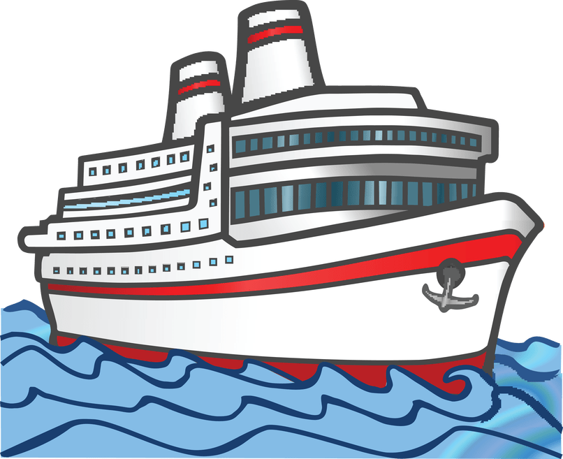 image transparent library Boats clipart island. Cruise steam ship free