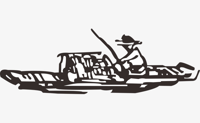 graphic royalty free Transparent . Boats clipart stick figure