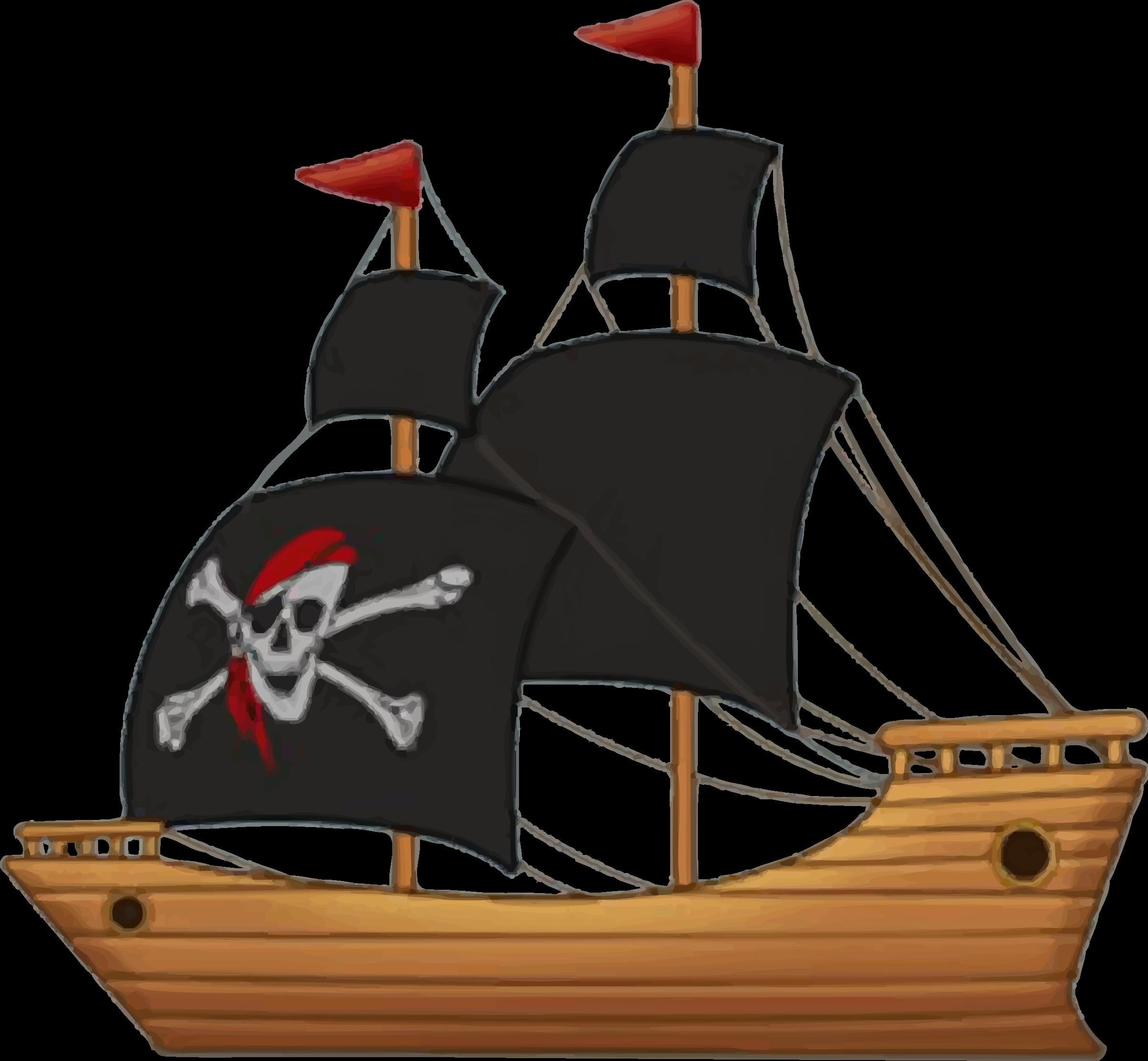 free stock Boat pirate ship pencil. Boats clipart tanker