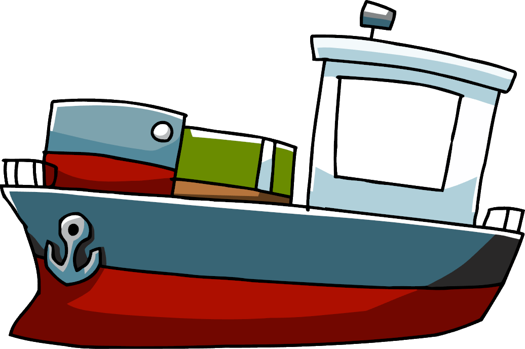 clipart free stock Cargo ship scribblenauts wiki. Boats clipart tanker