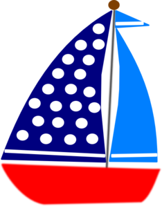 graphic free download Sail Boat Clip Art at Clker