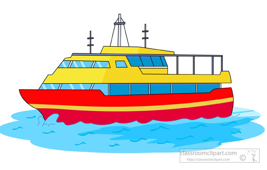 clip art download Water transport . Yacht clipart ferry boat