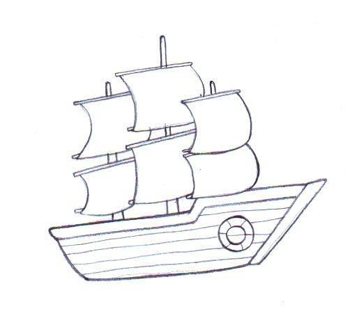 graphic freeuse library Draw a boat drawings. Boats drawing