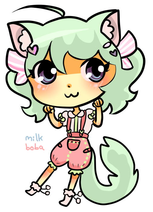 jpg transparent library Request dollie pop by. Boba drawing