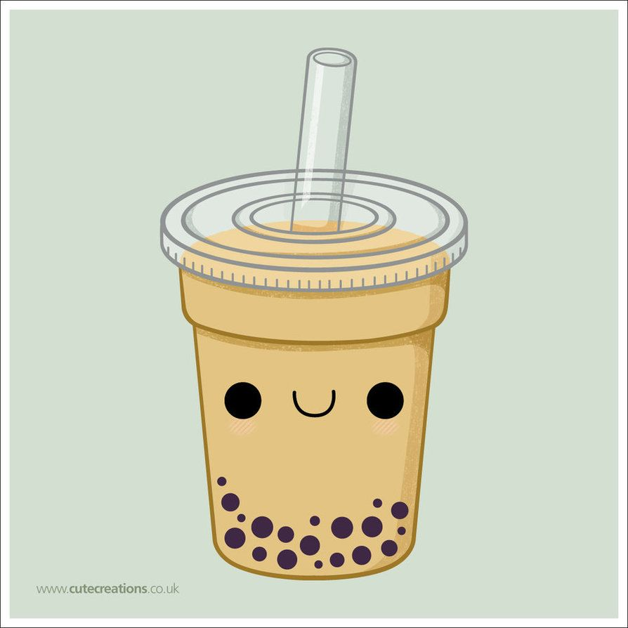 clip art black and white stock Images for bubble tea. Boba drawing