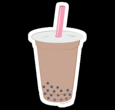 svg free Chai Bubble Tea Vector Pattern