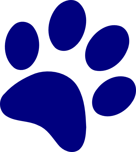 picture stock Bobcat Paw Print Clip Art