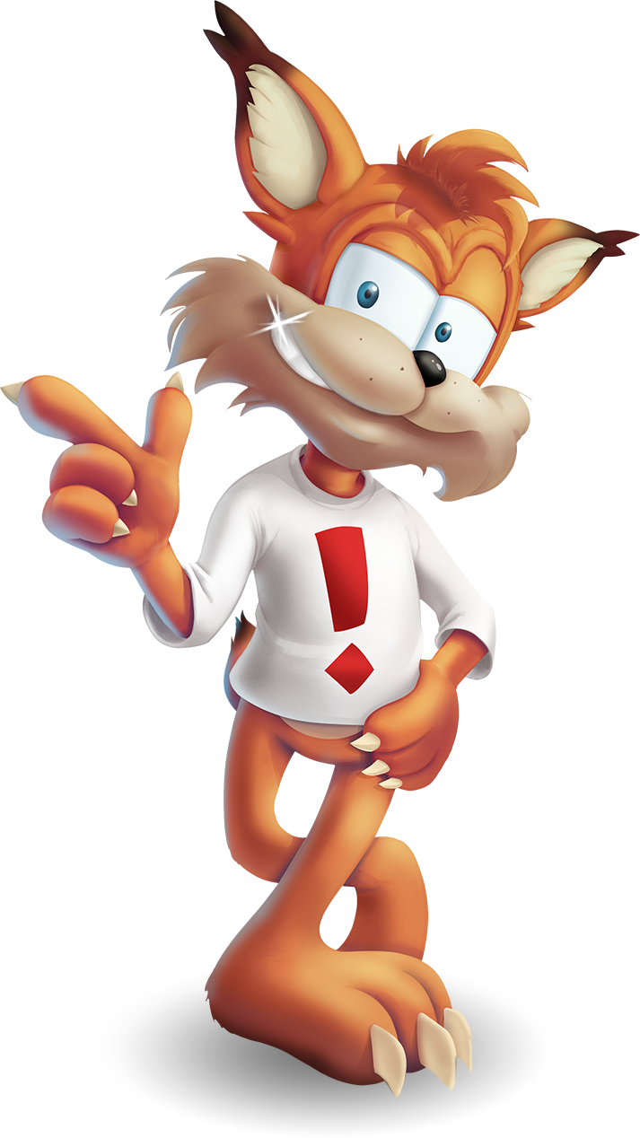 image royalty free download Bobcat clipart artwork. New bubsy art know